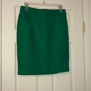 NWT J Crew 10 pencil skirt with front pockets